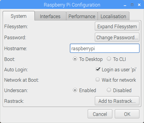 Changing the hostname of the Raspberry Pi