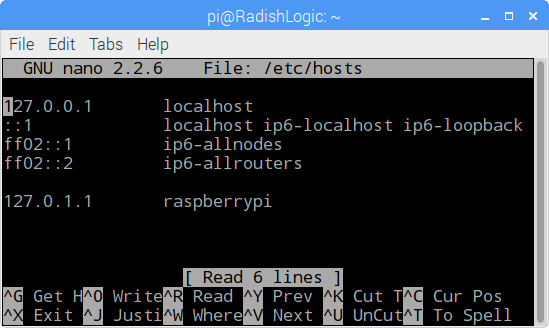 Changing the hostname of your Raspberry Pi