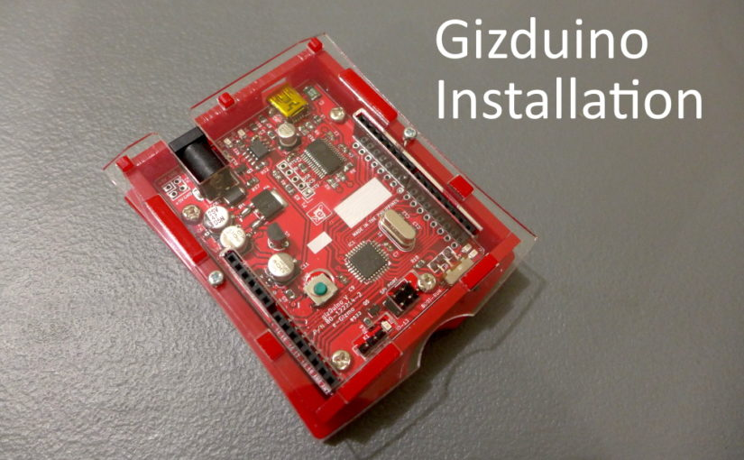 Gizduino Installation in Windows 10