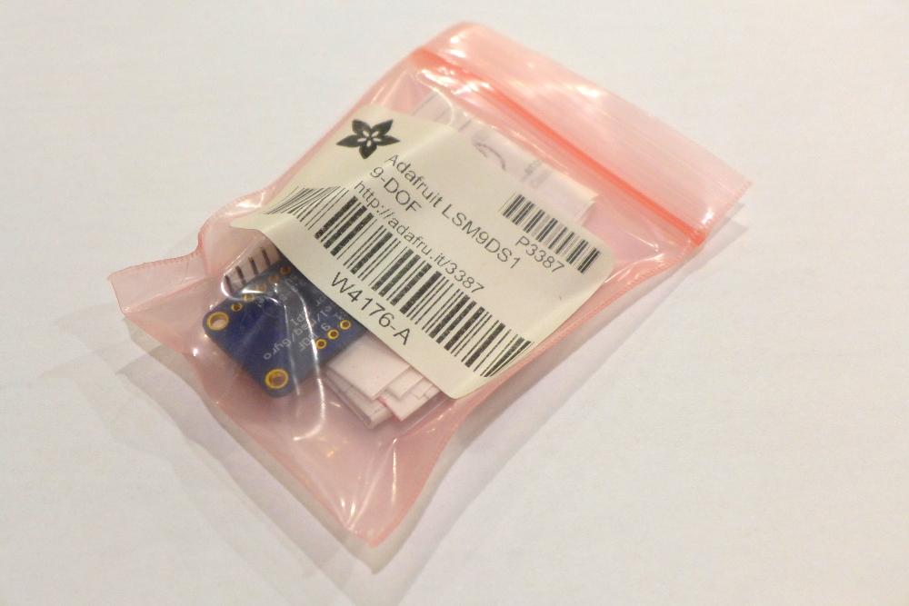 LSM9DS1 Adafruit Breakout Board still inside the package