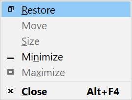 Making an Off-Screen Window Appear in Windows 10 - Radish Logic