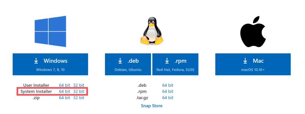 Installing Visual Studio Code For All Users In Windows Radish Logic